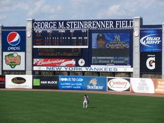 Tampa Bay, FL - Yankees Spring Training at George M. Steinbrenner Field