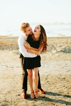 Those hugs that make you laugh cause your happy with the one you love..