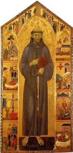 Guido di Graziano, Saint Francis