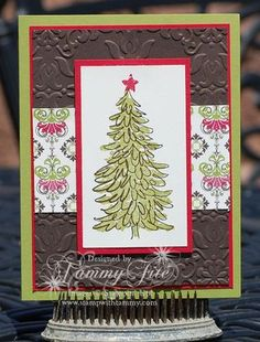 Stamp with Tammy: Christmas Card Class - #