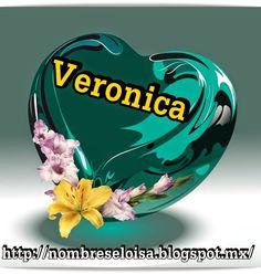 """Nombres """" Eloisa """": Corazón verde con Nombres"""
