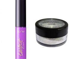 Tarte Tarteist Creamy Matte Lip Paint Yaassss (Lavender) Mini 3ml/0.1 oz, Wet'n Wild Shimmer Dust. travel size.