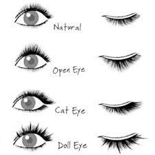 Image result for eyelash extension style