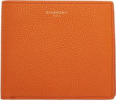 Givenchy Orange Leather 8CC Wallet