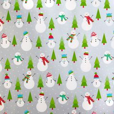 Snowman Soirée Gift Wrap *finished*