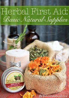 Herbal First Aid: Ba