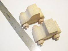 Unfinished Wooden Cars DIY Kids craft Paint it by TheSupplyDestash