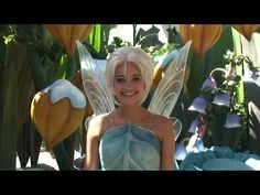 Fairies Periwinkle and Tinker Bell at Disneyland on Periwinkle's Debut Day in September, 2012!
