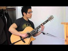 Beauty and the Beast - Solo Fingerstyle Acoustic Guitar - Andrew Chae