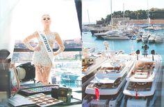 Miss Monaco 2015 | Making of photoshoot during the Monaco Yacht Show