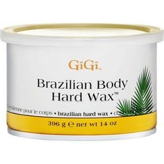 GiGi Brazilian Body Hard Wax 14 oz