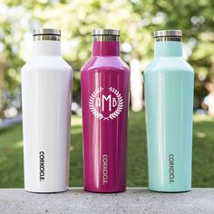 16oz corkcicle canteen | Oprah's favorite things 2015 & #1 gift of the season! Personalize with a name or monogram for the perfect present