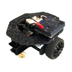 This is an ideal robot kit for beginners. Start using it with the remote control, and later program it with Arduino or with the graphical tool miniBloq. It comes with the DuinoBot controller, batte...
