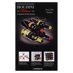 Houdini Deluxe Folding Wine Rack