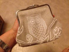 phone613 181 Coin Purse, Purses, Metal, Leather, Diy, Bags, Sewing Ideas, Wallets, Frame