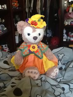 Halloween outfit & 166 best Duffy the Disney bear images on Pinterest | Duffy Disney ...