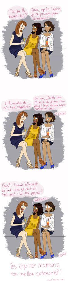 contraceptif naturel : les copines