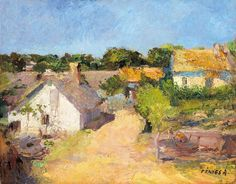View Farm in Szolnok by Adolf Fényes on artnet. Browse upcoming and past auction lots by Adolf Fényes. Canvas Signs, Global Art, City Art, Art Market, View Image, Oil On Canvas, Past, Antiques, Landscapes