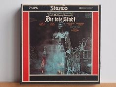 Amazon.com: Buying Choices: Erich Wolfgang Korngold, Die Tote Stadt (Pre-Recorded Reel To Reel Audio Tape)