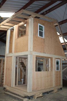 Frontier Fortress a New Kind of Tiny House -by Kent Griswold on February 13th, 2014