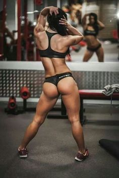 STRONG, SQUAT-BUILT GLUTES of exotic Hungarian muscle babe & #Fitness model Etu Sipocz : if you LOVE Health, DIY Workouts & #Inspirational Body Goals - you'll LOVE the #Motivational designs at CageCult Fashion: http://cagecult.com/mma