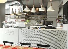 graphic interpretations of key    restaurant design | Tumblr