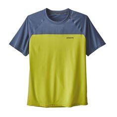 Patagonia Men's Short-Sleeved Windchaser Running Shirt