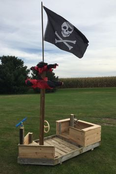 Image result for how to build a pirate ship out of wood