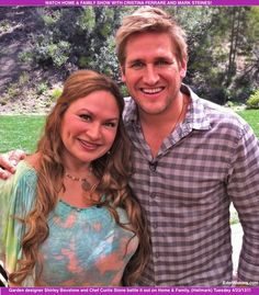 I had the pleasure of meeting the exceptionally talented and handsome chef, Curtis Stone!  Watch Home & Family show on Tuesday, April 24 at 10 AM ET. Pinned by Shirley Bovshow, www.EdenMakers.com