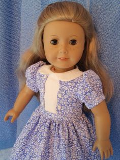 Handmade American Girl Doll Dress 18 Inch Doll by izzadorabelle