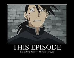 Greedling.  I've never cried that much watching an anime before.