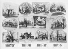 Early Lansing Houses