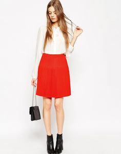 ASOS Skirt with Graduated Pleats