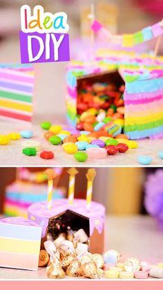 Regalo de cumpleaños :O Birthday Treats, Diy Birthday, Birthday Gifts, Craft Gifts, Diy Gifts, Crafts For Teens, Diy And Crafts, Craft Wedding, Craft Videos