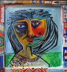 María So- Acrílico s tela- 52,5x48,5cm- 2014