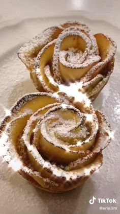 Fun Baking Recipes, Apple Recipes, Sweet Recipes, Dessert Recipes, Cooking Recipes, Food Cravings, Food Videos, Love Food, Food To Make