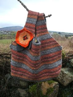 Bag - upcycled from old wool sweater