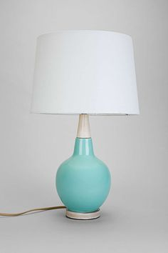 Plum & Bow Curved Lines Table Lamp.  Perfect!  Urban Outfitters. $129