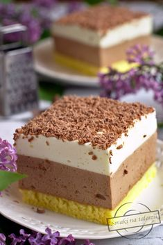 Cappuccino z cytrynową pianką Sweet Recipes, Cake Recipes, Sicilian Recipes, Sicilian Food, Breakfast Menu, Polish Recipes, Artisan Bread, Bread Baking, No Bake Cake