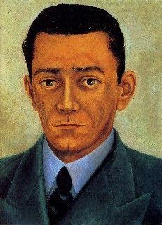 Portrait of the Engineer Eduardo Morillo Safa, Retrato del Ing. Eduardo Morillo Safa (1944) - Frida Kahlo. Colección de Dolores Olmedo Patiño. Portrait of Eduardo Morillo Safa, Engineer