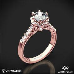 $2700 Verragio Classic 911RD7 Diamond Engagement Ring