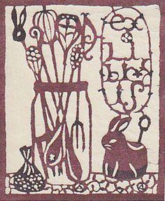 Bookplate by Seki Mihoko (関美穂子)