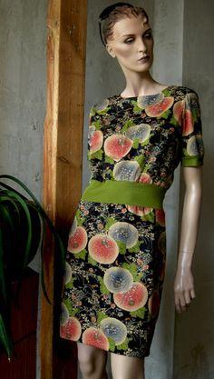 JAPANESE-KLEID+WICKELJACKE*****Unikat/handmade von Raboti auf DaWanda.com