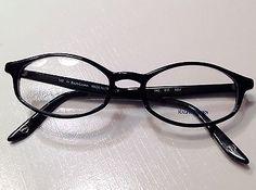 62fc2aa740ea Polo Ralph Lauren Black Plastic Frames Designer Eyeglasses optical vision  rx Fashion Eyewear