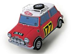 This very well done paper model  of the British  1967`s Mini Cooper Monte Carlo Rally  in 1/30 scale  was created by Japanese designer and...