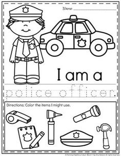 Community Helpers Preschool Discover Community Helpers Preschool Theme - Planning Playtime Do you teach a Community Helpers Preschool or Kindergarten Unit? You will LOVE this fun set of pretend play learning centers and no prep worksheets. Community Helpers Kindergarten, Community Helpers Activities, Kindergarten Units, Preschool Activities, Kindergarten Vocabulary, Space Activities, Vocabulary Cards, Vocabulary Activities, Preschool Printables