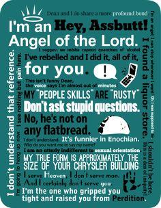 Grandes frases de Castiel.