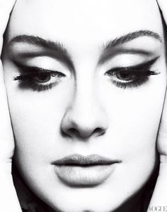 Adele - make-up for MK's wedding?