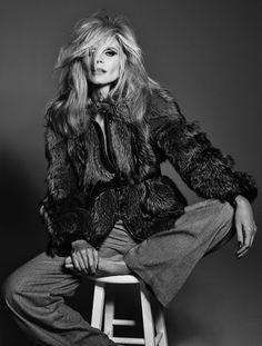 Heidi Klum for Vogue Italia by Francesco Carrozzini