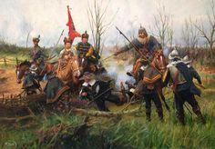 CZAS POTOPU -LEKKA JAZDA Ukrainian Art, Art Archive, Modern Warfare, Military Art, All Art, Art History, Renaissance, Character Art, Wings